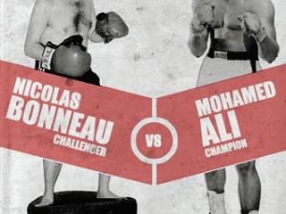 Affiche du spectacle Ali 74, le combat du siècle