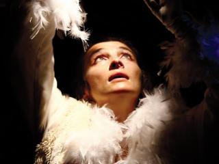 Affiche du spectacle Histoire d'un merle blanc
