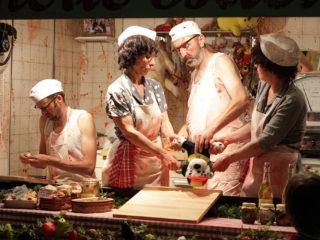 Affiche du spectacle La Boucherie Bacul