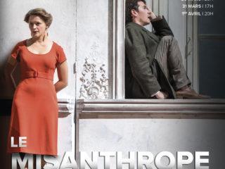Affiche du spectacle Le Misanthrope (reprise)