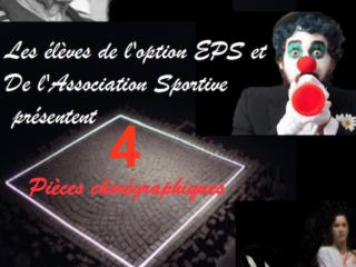 Affiche du spectacle Spectacle de danse du Lycée Cordouan