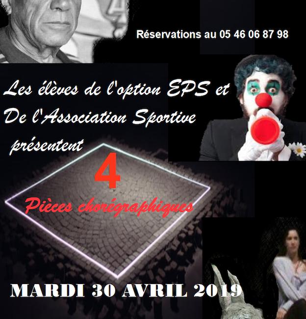 Spectacle de danse du Lycée Cordouan