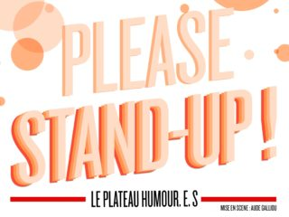 Affiche du spectacle Please stand-up ! Spectacle