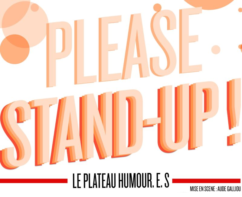 Please stand-up ! Spectacle