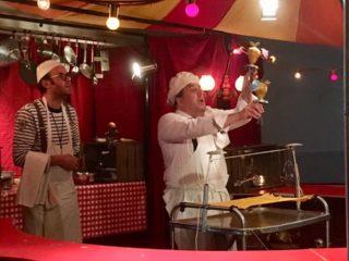 Affiche du spectacle The Little Kitchen Circus