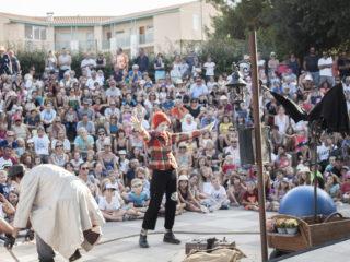 Affiche du spectacle Juste un p'tit bout d'cirque