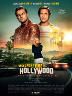 Affiche du film Once upon a time in… Hollywood