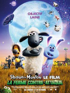 Affiche du film Shaun le mouton, la ferme contre-attaque