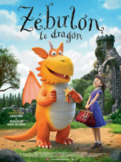 Affiche du film Zébulon le dragon