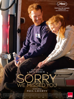 Affiche du film Sorry we missed you