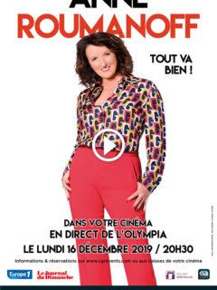 Affiche du film Anne Roumanoff – Tout va bien !
