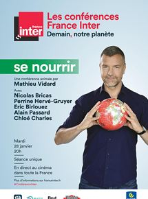 Affiche du film Se nourrir – Conférence France Inter