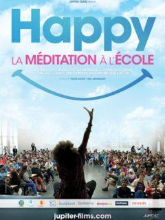 Affiche du film Happy la méditation à l'école