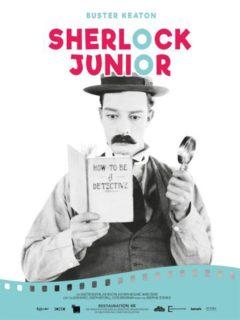 Affiche du film Sherlock Junior + Malec l'insaisissable