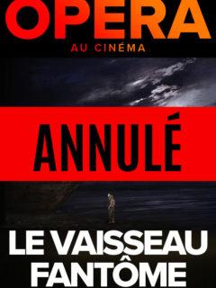 Affiche du film Vaisseau Fantôme ANNULÉ