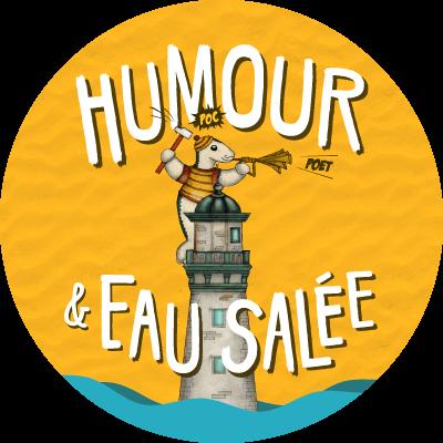 Visuel Humour et Eau Salée