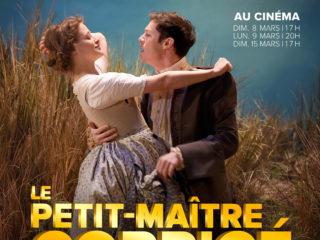 Affiche du spectacle Le Petit-Maître corrigé  –  Comédie-Française