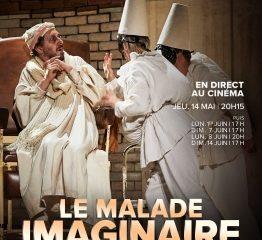 Affiche du spectacle LE MALADE IMAGINAIRE