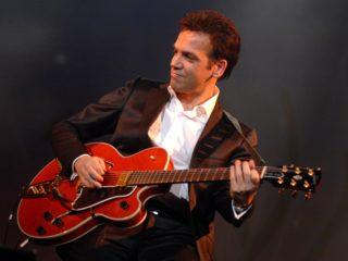 Affiche du spectacle Brassens en une seule guitare