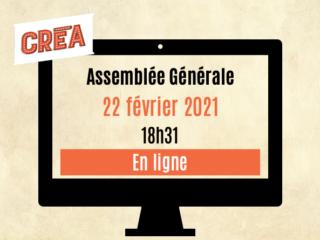 Affiche du spectacle Assemblée Générale