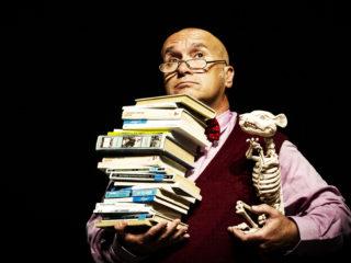 Affiche du spectacle AG + Les Dangers de la lecture