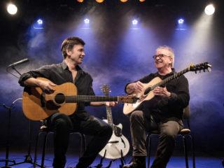Affiche du spectacle Back to celtic guitar