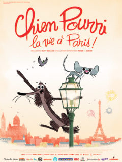 Affiche du film CHIEN POURRI, la vie à Paris !