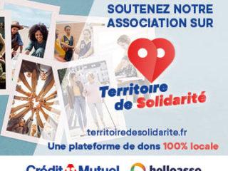 Affiche du spectacle Territoire de Solidarité