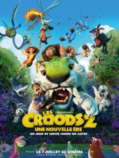 Affiche du film Les Croods 2 : une nouvelle ère