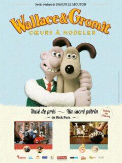 Affiche du film Wallace et Gromit : coeurs à modeler