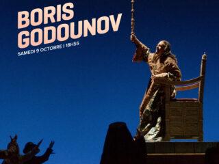 Affiche du spectacle Boris Godounov (en direct de New York)