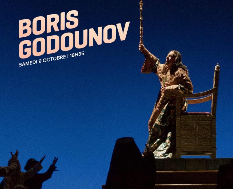 Boris Godounov (en direct de New York)