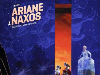 Affiche du spectacle Ariane à Naxos (en direct de New York)