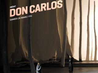 Affiche du spectacle Don Carlos (en direct de New York)
