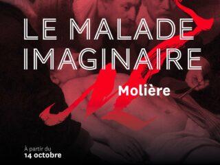 Affiche du spectacle Le Malade imaginaire (en direct)